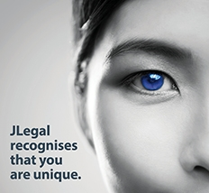 JLegal recognises that you are unique
